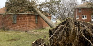 make a home insurance claim for storm damage