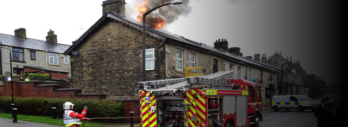 fire damage repairs Manchester loss assessors centurion home insurance claims assistance Manchester